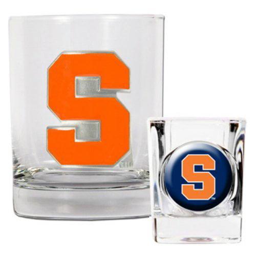 NCAA - Syracuse Orange Rocks Glass and Shot Glass Set