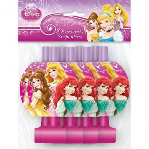 Disney Princess 'Sparkle and Shine' Blowouts / Favors (8ct)