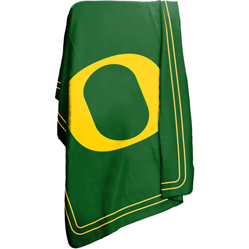 "Logo Chair NCAA Oregon 50"" x 60"" Classic Fleece Throw"