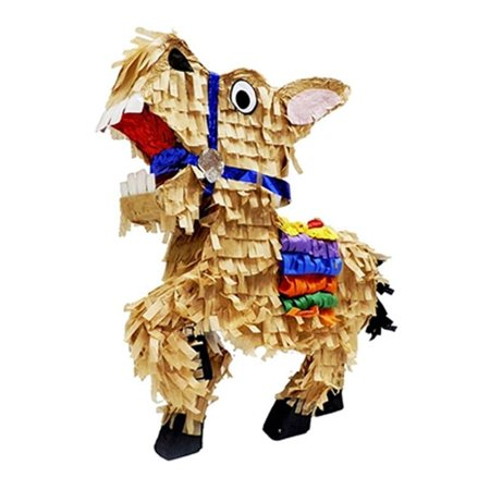 Standard Mexican Donkey Pinata, Brown, 16in x 20in (Pinata Donkey)
