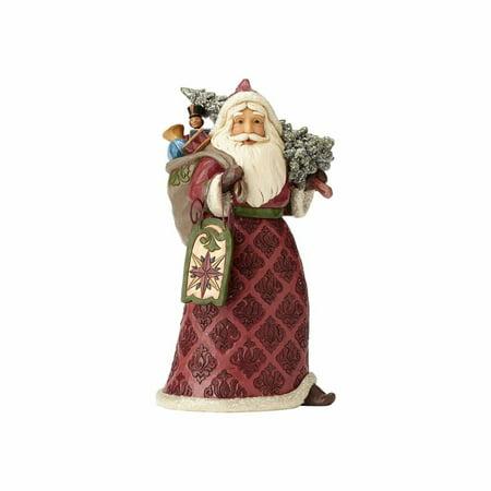 Jim Shore Heartwood Creek 4058751 Victorian Santa with Sled, Toys 2017