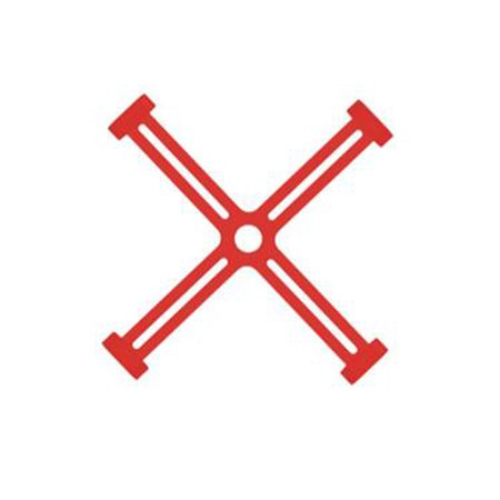 Blade Holder Bracket Propeller Fixator Transports Protection Holder for DJI Spark Drone Accessories - Red