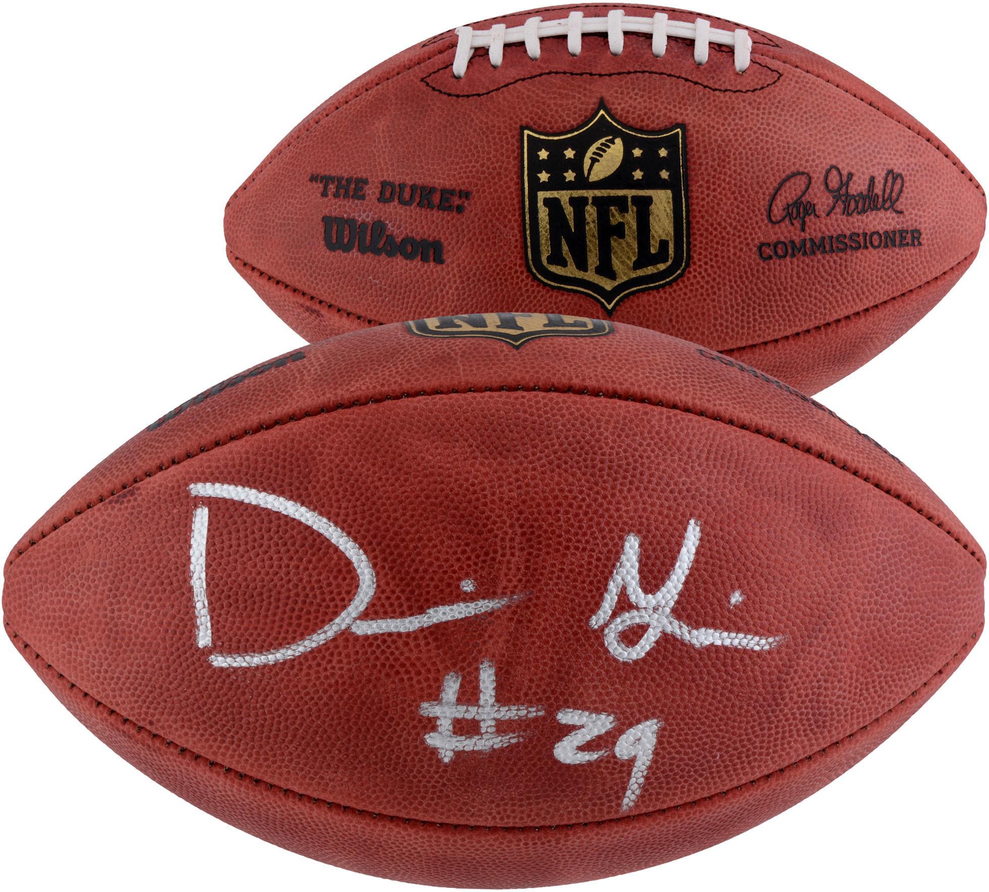 Derrius Guice Washington Redskins Autographed Duke Pro Football - Fanatics Authentic Certified