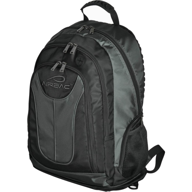 "Image of Airbac Layer 17"" Laptop Backpack, Grey"