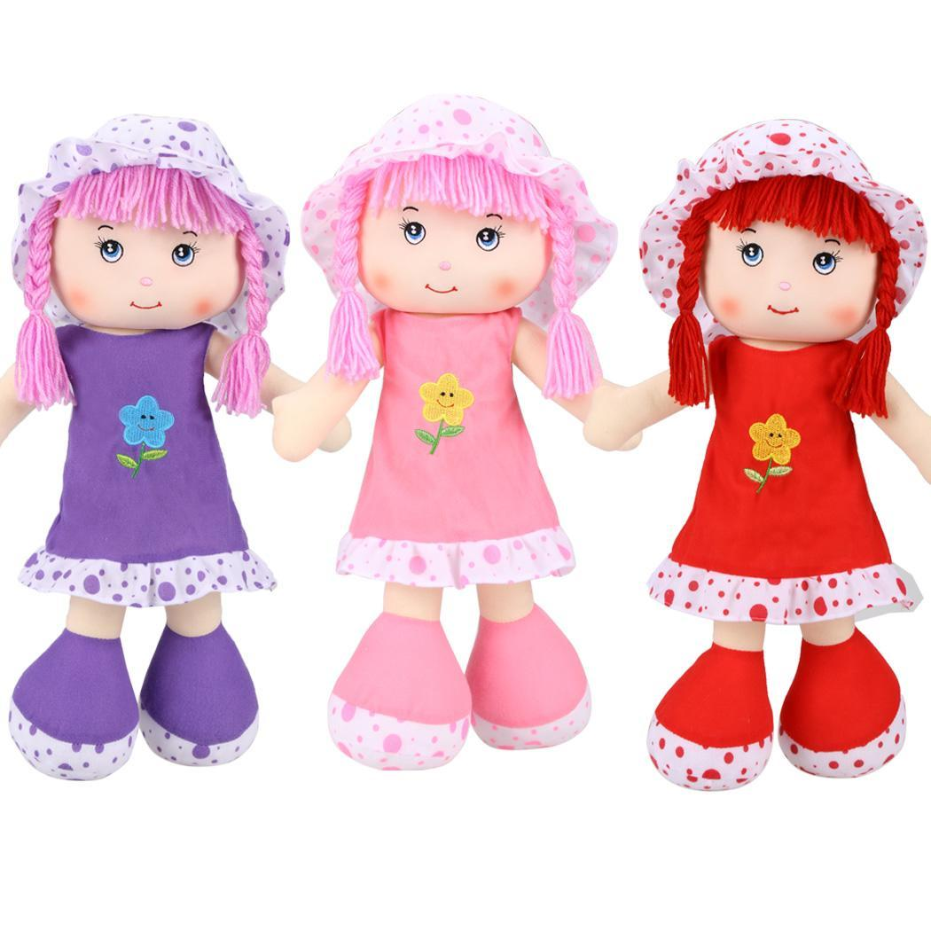 "19.5"" Stuffed Plush Girl Toy Doll  Creative Gift Soft Toys"