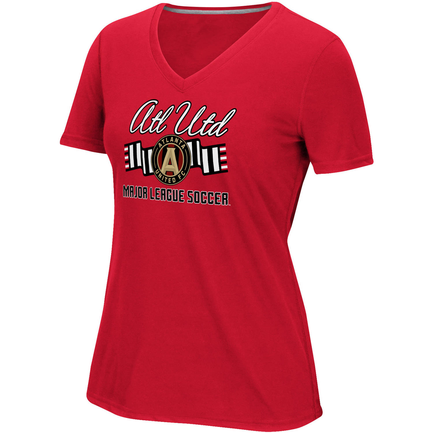 MLS-Atlanta United-Women's Middle Logo Scarf Tee
