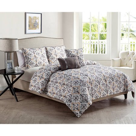 DISCONTINUED VCNY Home Liliana 5-Piece Bedding Comforter Set