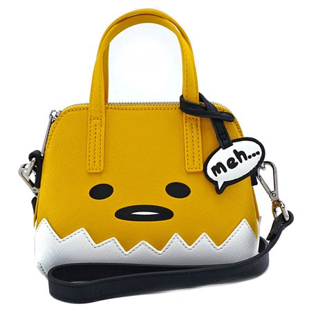 Loungefly X Gudetama Big Face Micro Dome Crossbody Bag (One Size, Multi) ()