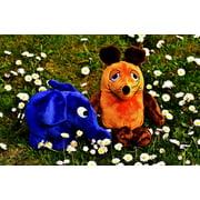 LAMINATED POSTER Mouse Teddy Bear Elephant Soft Toy Stuffed Animal Poster Print 24 x 36 - Elephant Teddy Bears