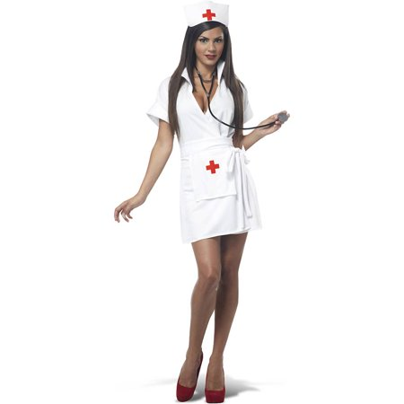 Fashion Nurse Adult Costume - Nurse Costumes For Adults