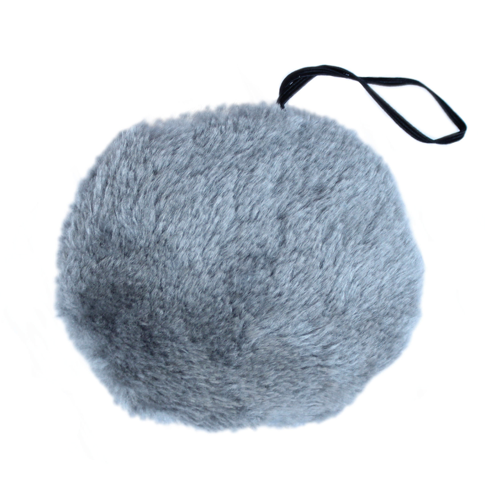 SeasonsTrading Gray Plush Bunny Tail - Halloween Easter Rabbit Costume