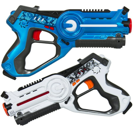 Best Choice Products Kids Laser Tag Set w/ Multiplayer Mode, 2 Pack - Kids Toy Guns