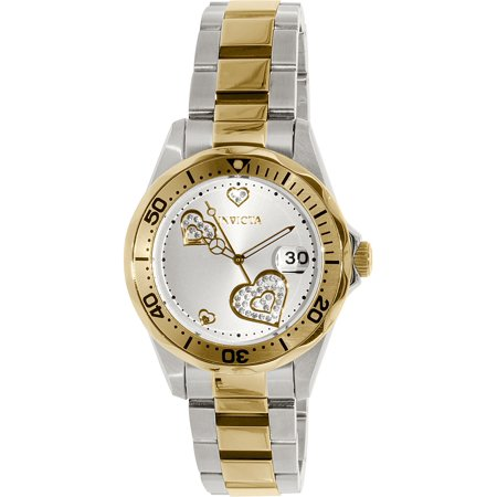 Women's Pro Diver 12287 Gold Stainless-Steel Swiss Quartz Fashion