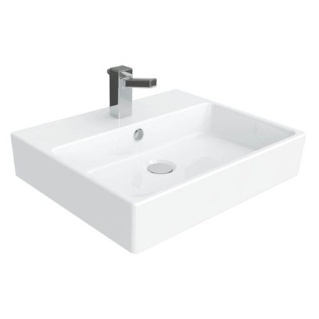 WS Bath Collections Simple 50.40B Wall Mount Vessel Bathroom
