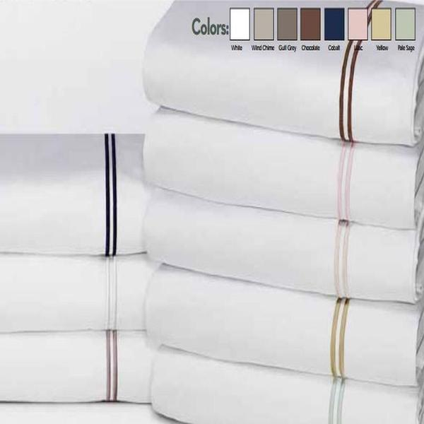 Elle 1200 Thread Count Cotton Rich Embroidery Sheet Set