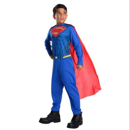 Batman V Superman: Dawn Of Justice Superman Action Suit Costume for Kids