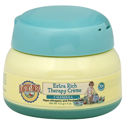 Earth's Best Calendula Extra Rich Therapy Creme, 4 oz