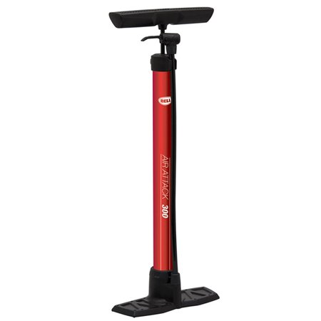 Air Attack High Volume Pump for Bicycle Air Attack 300-Red..., By Bell Ship from