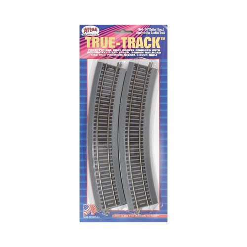 "460 18"" Curved True-Track (4) HO Multi-Colored"