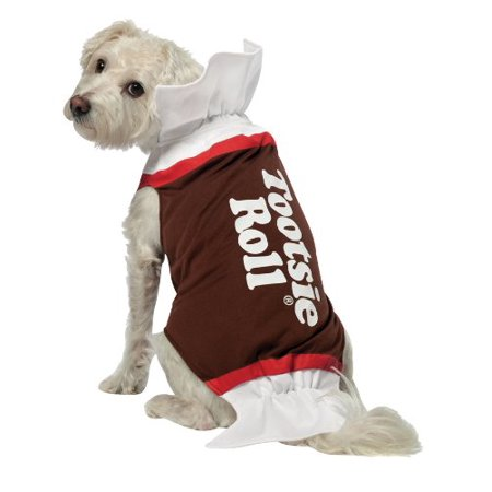 Tootsie Roll Dog Costume Xl - Sushi Roll Dog Costume