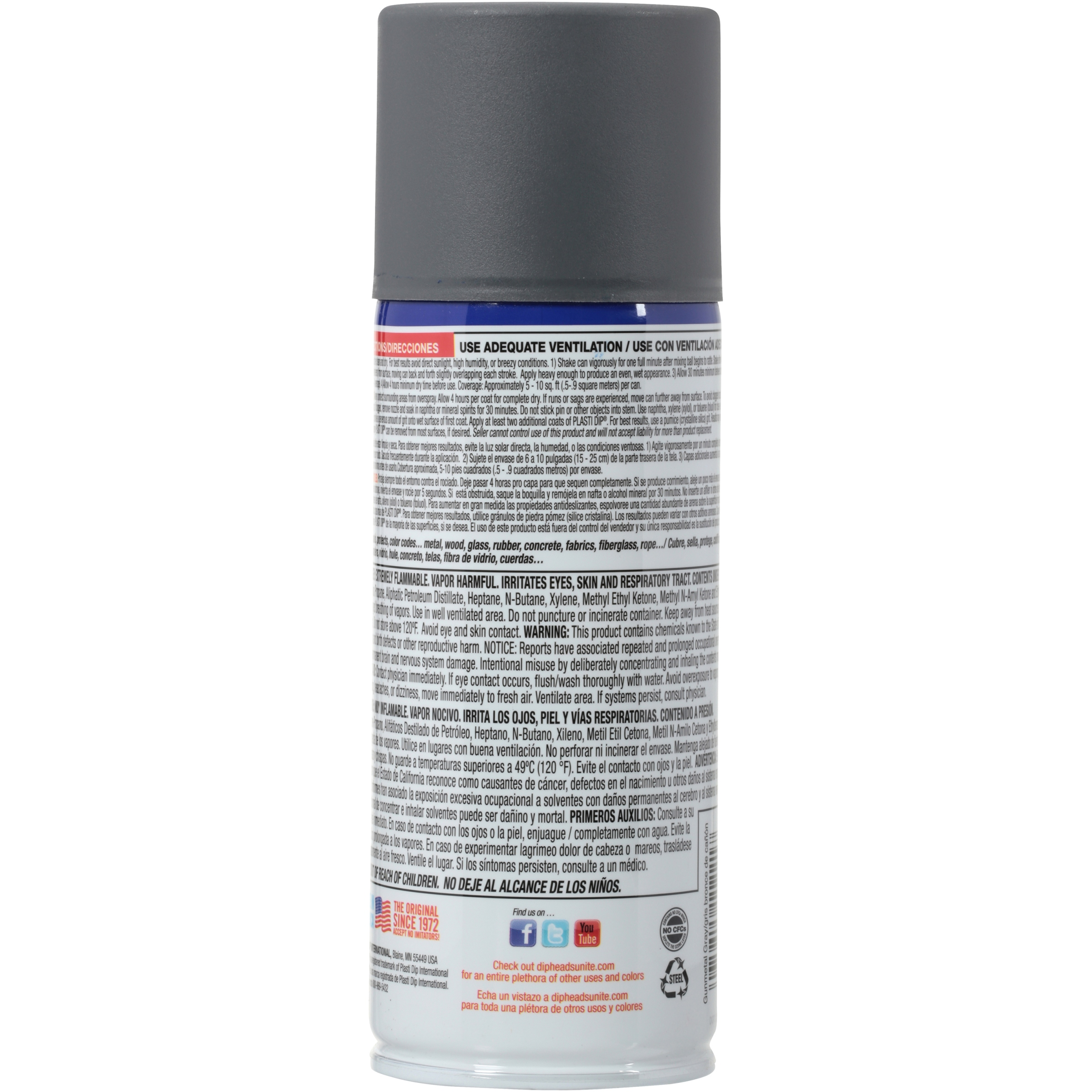 Plasti Dip Spray Black 11203 6 Walmartcom