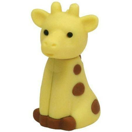 Ty Beanie Babies Eraserz -Hightops the Giraffe Iwako Japanese Puzzle Eraser