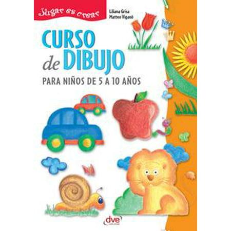 Curso de dibujo para niños de 5 a 10 años - eBook