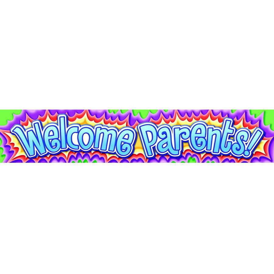 "North Star Teacher Resources Welcome Parents Banner, 69"" x 13"""