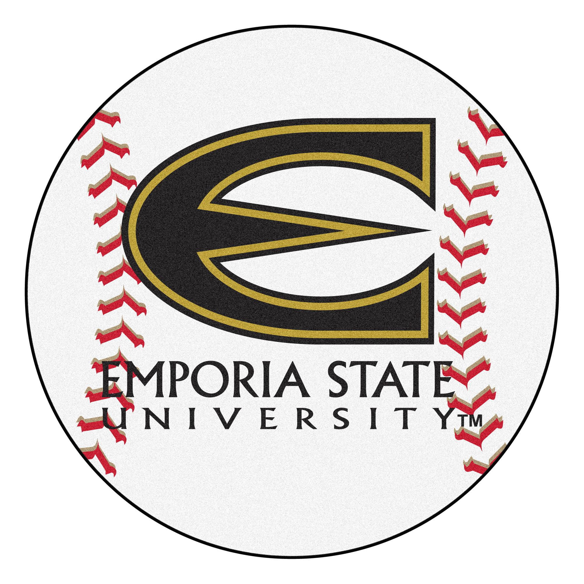 "Emporia State Baseball Mat 27"" diameter"