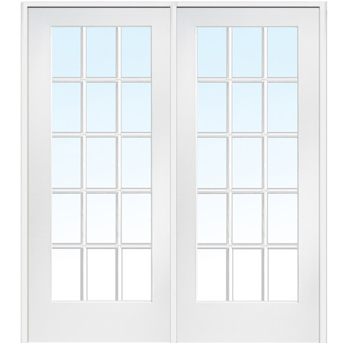 Verona Home Design MDF Primed Interior French Door