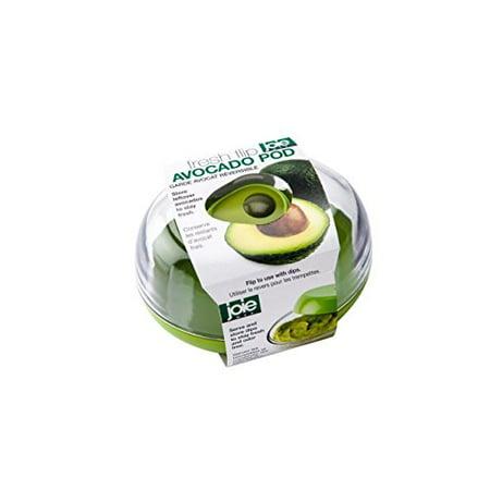 Avocado Fresh Flip Pod Saver Container - Guacamole Dip Storage / Serving - Dipped Pears