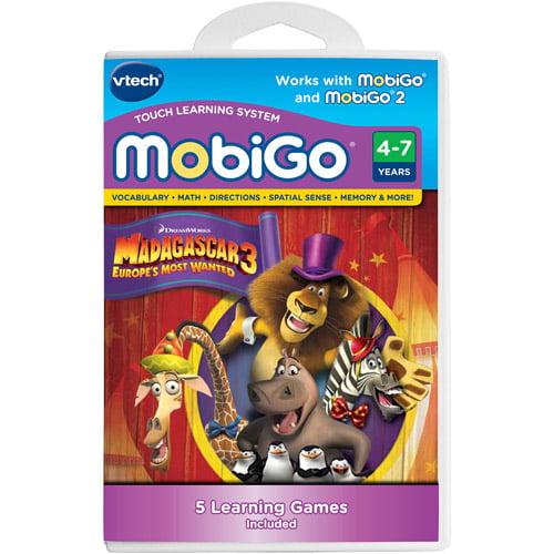 VTech MobiGo Software, Madagascar 3