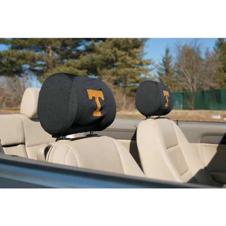 Bsi Products Inc Tennessee Volunteers Headrest Covers Set Of 2 Headrest Covers