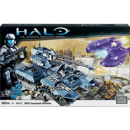 Halo Covenant Invasion Set Mega Bloks 96853