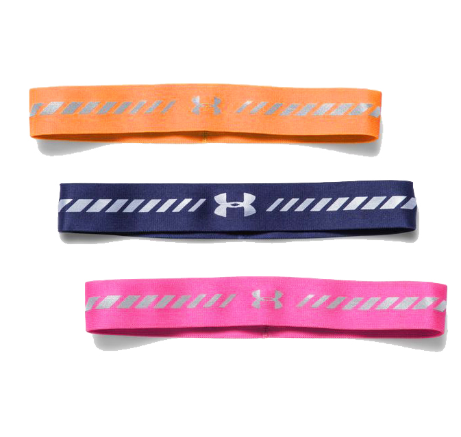 Under Armour Women's Reflective Headband 3-Pack