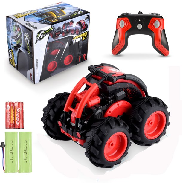 Remote Control Car For Boys Or Girls High Speed Remote Control Truck Rc Cars For Adults Or Kids Off Road Radio Controlled Stunt Vehicle Toys Walmart Com Walmart Com
