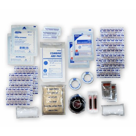 UNIVERSAL FIRST AID REFILL KIT, Our Universal First Aid Refill Kit offers a full range of commonly used first aid supplies, contained in a heavy re-sealable.., By Rescue (Use Of Safety Pin In First Aid Box)