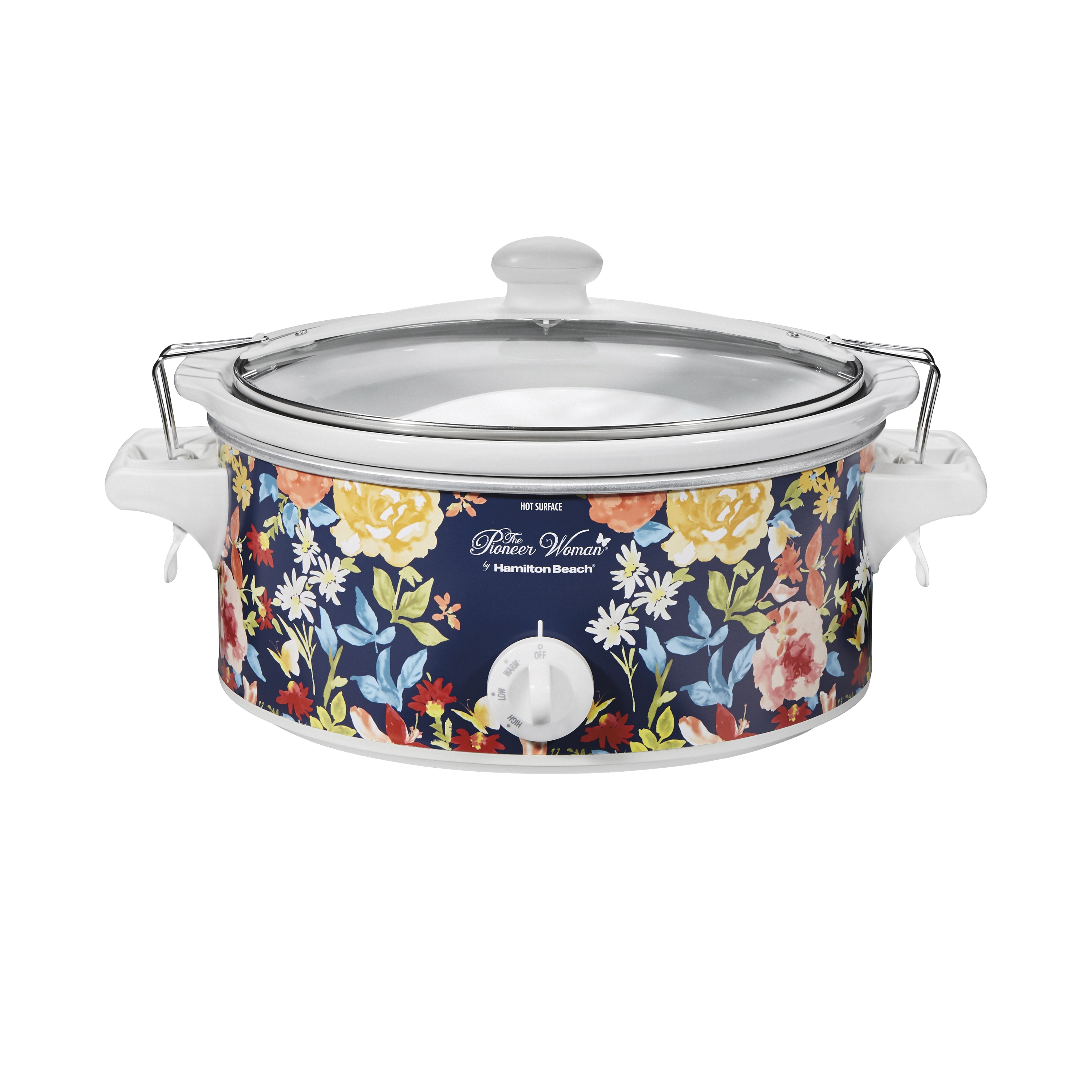 Pioneer Woman 6 Quart Portable Slow Cooker Fiona Floral Model# 33066 By Hamilton Beach