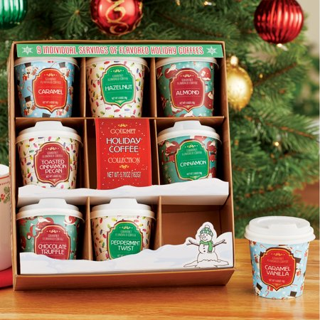 Holiday Flavored Beverages - Set of 9, Hot Chocolate or Coffee ()