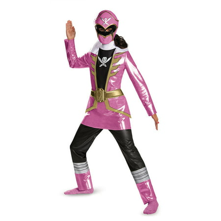 Pink Ranger Deluxe Girls Child Halloween Costume
