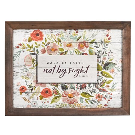 - Wall Plaque Walk by Faith (Other)