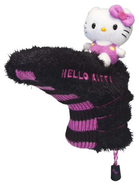 4891b6b2c3ca Product Image Hello Kitty Blade Putter Headcover-Color Pink Black