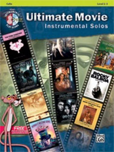 Alfred Ultimate Movie Instrumental Solos for Strings -Cello-Book & CD by Alfred