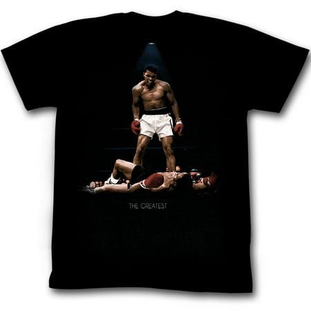 Muhammad Ali Men's  All Over Again T-shirt Black