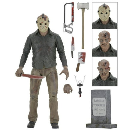 """Friday the 13th – 7"""" Figure – Ultimate Part 4 Jason"""