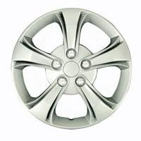 Fit Mazda Wheels Rim Cover 4pcs Hub Cap 5 Chrome Lug Trim Skin  Complete Set For 626 MPV MX-3 MX-6 Protege 1988 1989 199