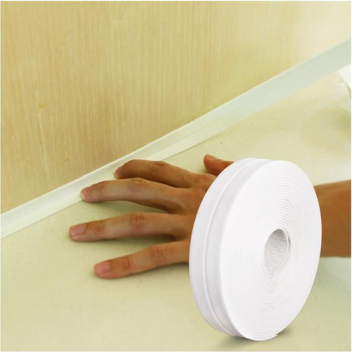 PVC Material Sink Stove Crack Strip Kitchen Bathroom Bathtub Corner Sealant  Tape Waterproof Mould Proof Sealing