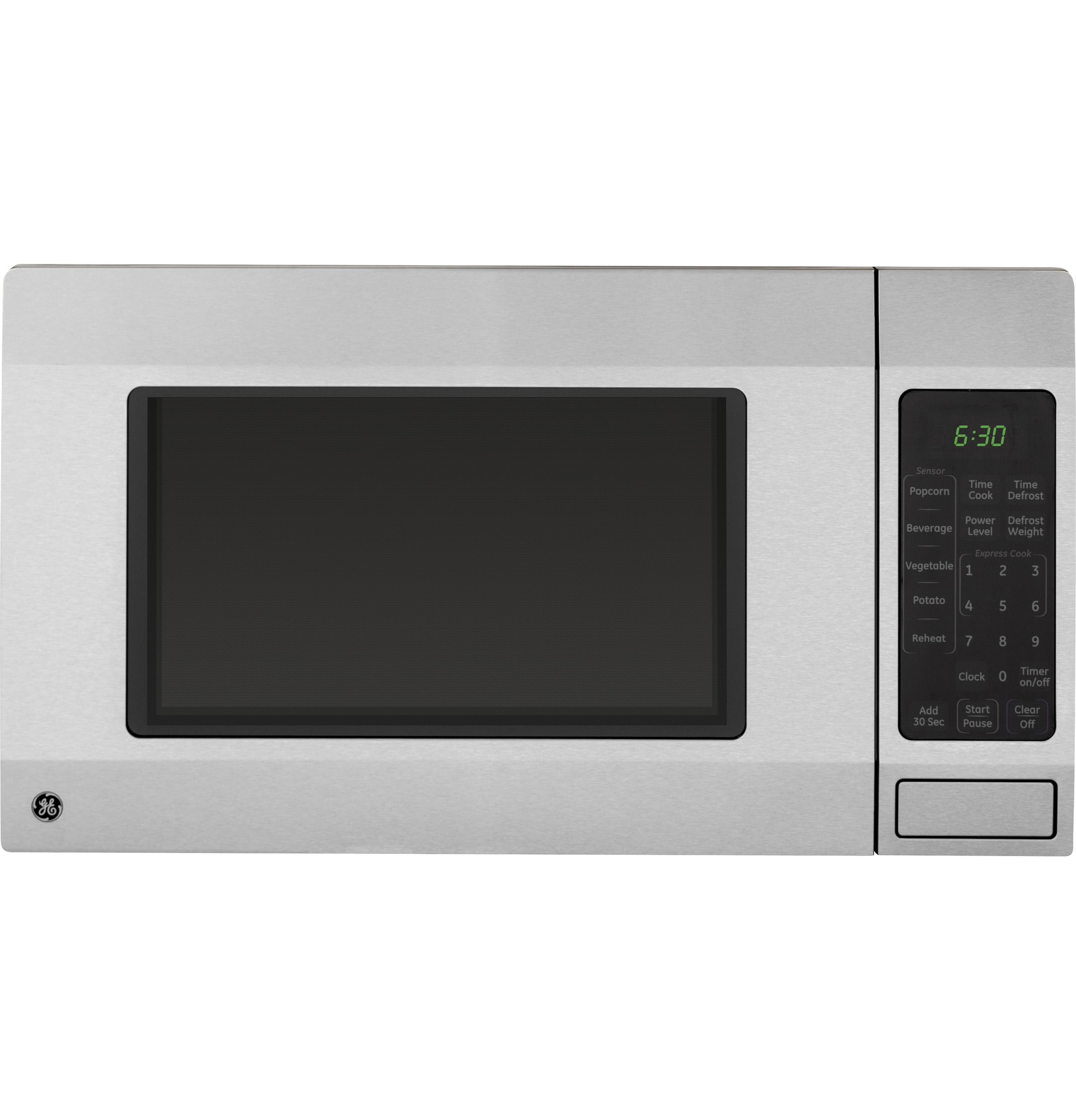 GE 1.6 cu. ft. Countertop Microwave Oven, Stainless