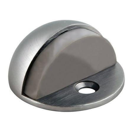 Design House 204735 Floor Mounted Dome Door Stop, Satin Nickel