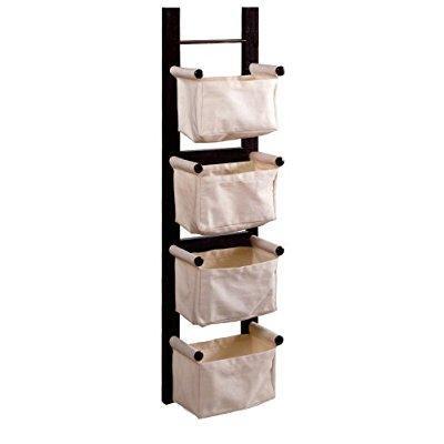 winsome wood magazine rack, espresso